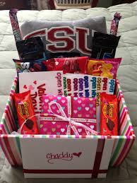 day gift for him valentines day gift for him valentines day gift basket open