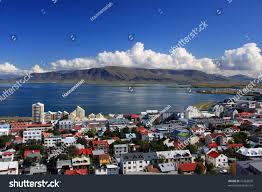 Sunset Reykjavik by Downtown Reykjavik Iceland Stock Photo 16363870 Shutterstock