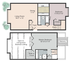 two bedroom two bathroom house plans rates floor plans jean rivard apts