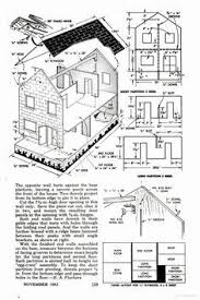 free dollhouse floor plans free doll house design plans wooden doll house plan double