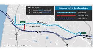 Las Vegas Traffic Map Rockland Bound Traffic To Begin Traveling On New Tappan Zee Bridge