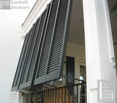 sunbelt shutters closed louver style bahamas are used for privacy