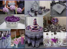 purple and silver wedding plum and silver wedding lovely purple and silver wedding