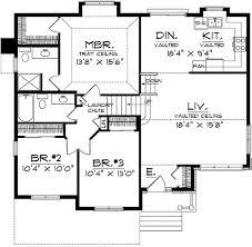 tri level house plans 1970s plan 8963ah split level home plan split level home home plans