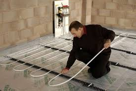 how to install underfloor heating homebuilding renovating