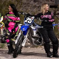 motocross gear for women oneal 2017 new ladies mx gear element black hi viz pink womens