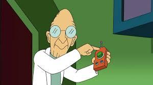 Professor Farnsworth Meme - i accidentally paused with professor farnsworth looking straight