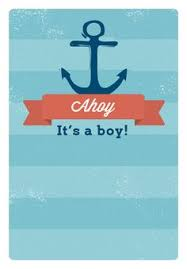ahoy it u0027s a boy free printable baby shower invitation template
