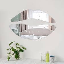 Home Design Decor Shopping Wish Aliexpress Com Buy Modern Morning Kissing Lips Wall Mirror