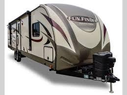 travel trailer with garage fun finder signature edition travel trailer rv sales 5 floorplans