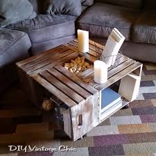 Wine Crate Coffee Table Diy by Hometalk Diy Crate Coffee Table U2013 Les Proomis