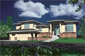 style home plans prairie style house plans the plan collection