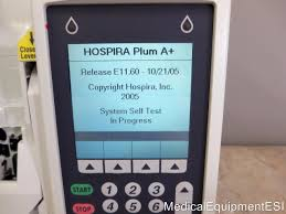 abbott hospira plum a pump iv infusion volumetric infusion pump