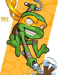 michelangelo mike tmnt print shop http www