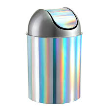 Kitchen Garbage Can With Lid by Kris Naudus Aol Engadget Teal Metal Garbage Can Teal Colored Trash