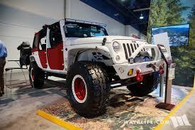jeep rubicon 2017 maroon 2017 sema bestop jeep jk wranglers