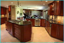 kitchen islands with granite countertops striking kitchen ideas with angled island with solid black granite