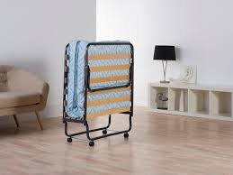 Folding Single Camping Bed Bedding Heavenly Folding Single Bed For Your Guest And Space