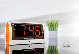 Bathroom Radio Clock Clocks U0026 Radios Sharper Image