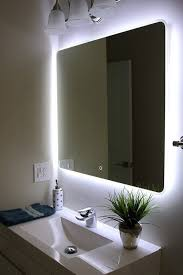 lights wall mounted makeup mirror lighted magnifying bathroom