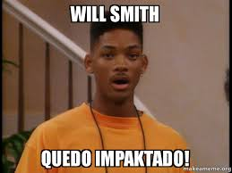 Will Smith Memes - will smith quedo impaktado make a meme