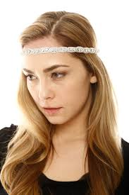 beaded headband deepa gurnani silver beaded headband from georgetown by chic