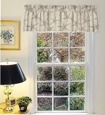 Nautical Valance Curtains Gray Starfish Nautical Window Curtain Valance With Ruffled Top