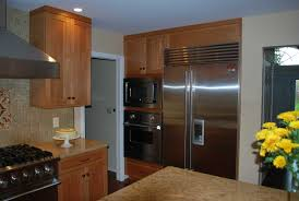 Brookhaven Kitchen Cabinets by Natural Cherry Kitchen Remodel In Rochester Ny Concept Ii