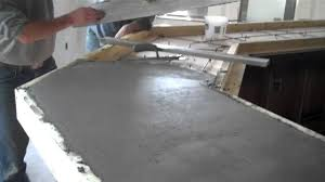 cement countertops furniture how to make cement countertops for kitchen table ideas