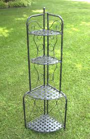 Bakers Rack Wrought Iron Cookware Stands And Storage Racks Organize It