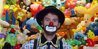 clowns balloons flower clown cleveland balloon store