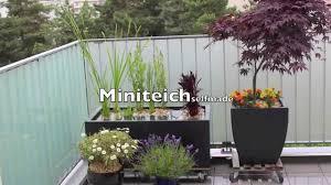 miniteich balkon miniteich für balkon und terrasse so schnell wird aus