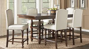 counter height dining room table stanton cherry 7 pc counter height dining room dining room sets