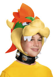 Bowser Halloween Costumes Child Bowser Headpiece