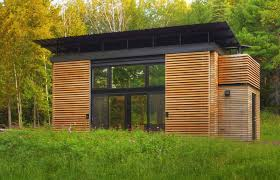small energy efficient home designs small prefab green home with functional design