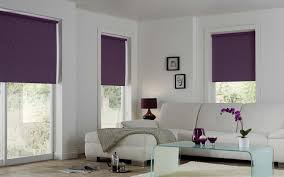 interior attractive orange blackout roller blinds for colorful