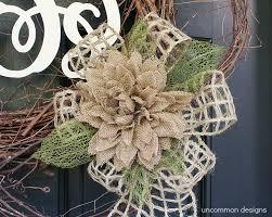 monogram wreath wood monogram twig and burlap wreath