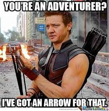 Hawkeye Meme - hawkeye doesnt like skyrim by denzipenzi meme center