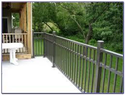 metal deck railing ideas decks home decorating ideas lx2338q26o