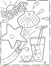 coloring pages summer fablesfromthefriends com