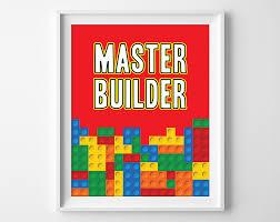 master builder lego art lego print lego printables boys
