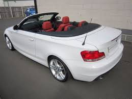 used bmw 1 series convertible used bmw 1 series 118i m sport 2dr leather low mileage
