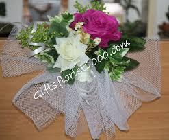 Banisters Flowers Silk Flower U0026 Pew Bows Wedding Flower Arrangement Singapore Wedding