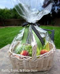 fruit basket gifts faith trust and pixie dust gift ideas women s