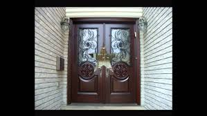 Double Front Entrance Doors by Front Doors Double Front Entry Doors With Glass Youtube
