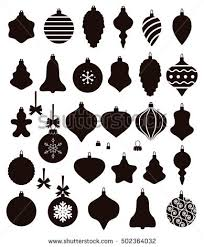 vector collection shapes baubles stock vector
