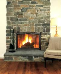 stone fireplace facing kits beautiful ideas faced photos electric