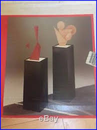 lighted display stand for glass art mid century mod style pedestal art sculpture display stand glass top