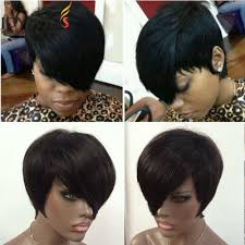 short hairstyle wigs for black women human hair short cut 8inch none bob lace wigs front lace wigs