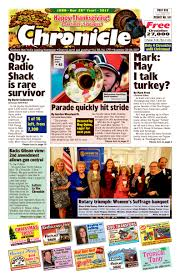 our november 22 issue glens falls chronicle